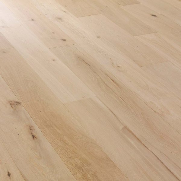 European Solid Oak Flooring Unfinished Rustic 120mm Wide Artisico