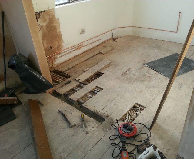 Floor Boards Repair