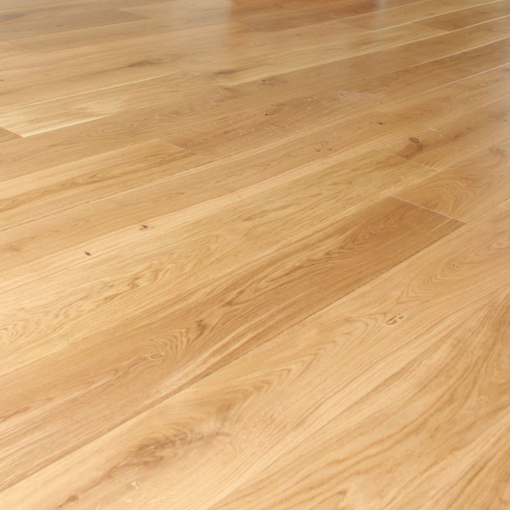 Engineered European Oak Flooring Lacquered Rustic 220mm Wide Artistico Wood Flooring
