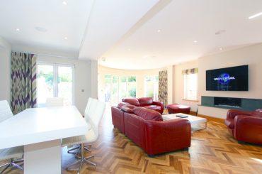 Parquet flooring Installation - Rustic Grade